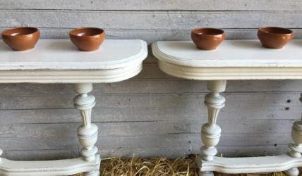 Paire console blanche atelier redoules (18)