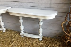 Paire console blanche atelier redoules (5)